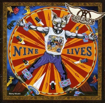 Aerosmith Nine Lives Import Arg Incl. 2 Bonus Tracks