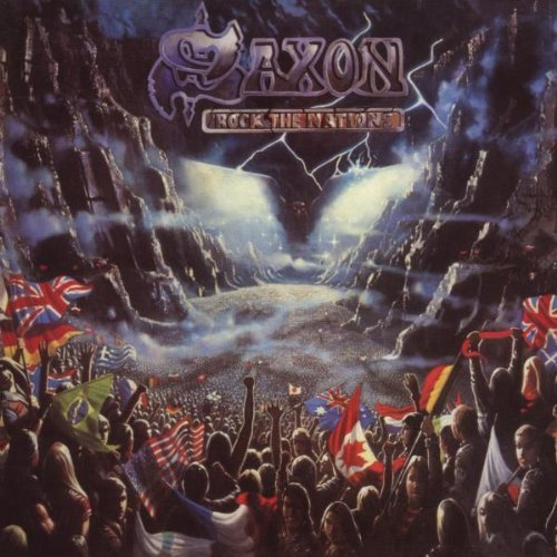 Saxon Rock The Nations Import Eu