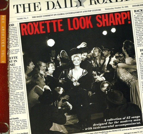 Roxette Look Sharp! 2009 Edition Import Eu Incl. 3 Bonus Tracks