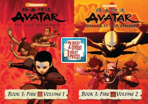 Avatar The Last Airbender Vol. 1 2 Book 3 Back To Back Nr