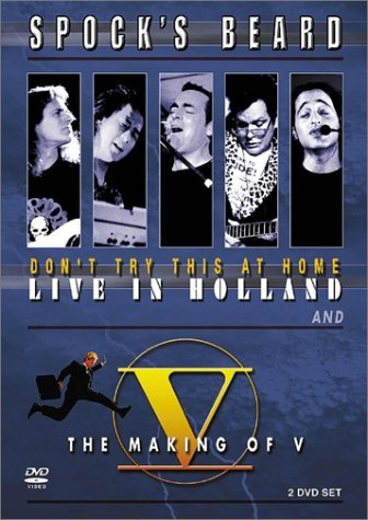 Spock's Beard Don't Try This At Home Live Ma 2 DVD