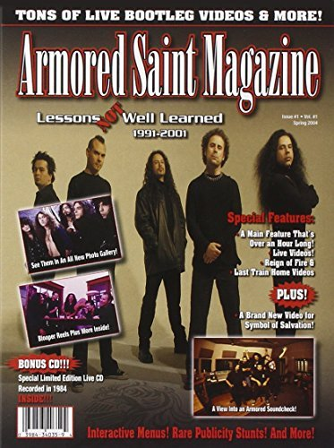 Armored Saint Lessons Not Well Learned Incl. CD