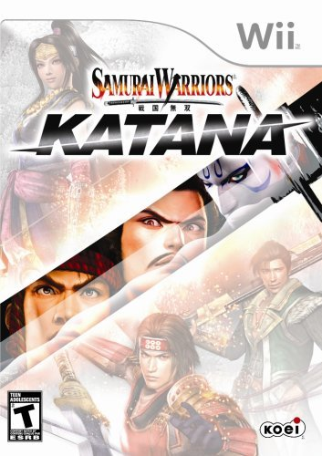 Wii Samurai Warriors Katana