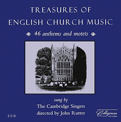 Cambridge Singers Treasures Of English Church Mu Rutter Cambridge Singers