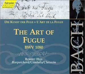 Johann Sebastian Bach Art Of Fugue Bwv 1080 Hill (hpd)