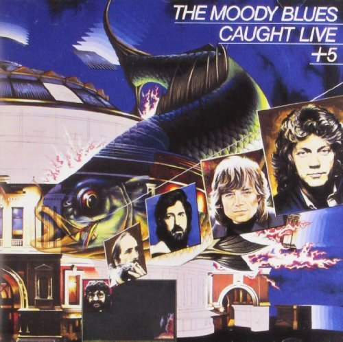 Moody Blues Caught Live Plus 5