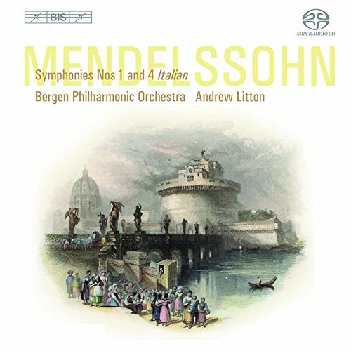 Bergen Philharmonic Orchestra Symphonies Nos 1 & 4 Sacd