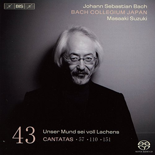 Bach Collegium Japan Cantatas Vol.43 Sacd