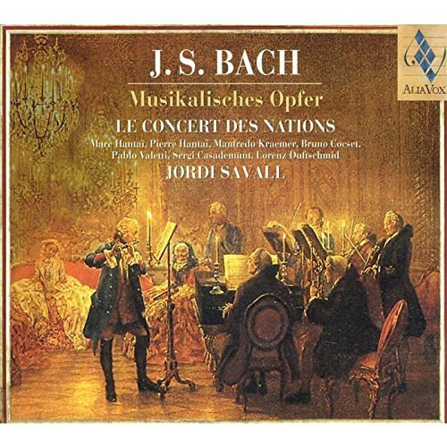 Johann Sebastian Bach Musical Offering Savall Concert Des Nations