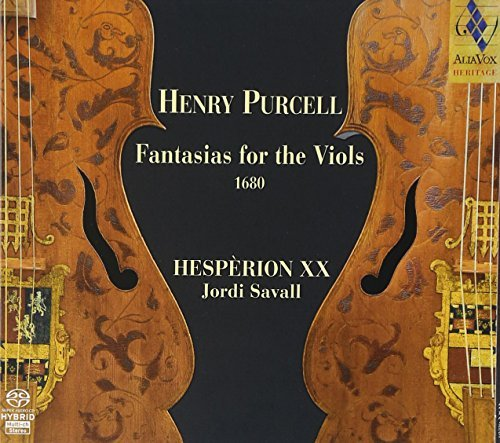 H. Purcell Fantasias For The Viols 1680 Sacd Savall Hesperion Xx