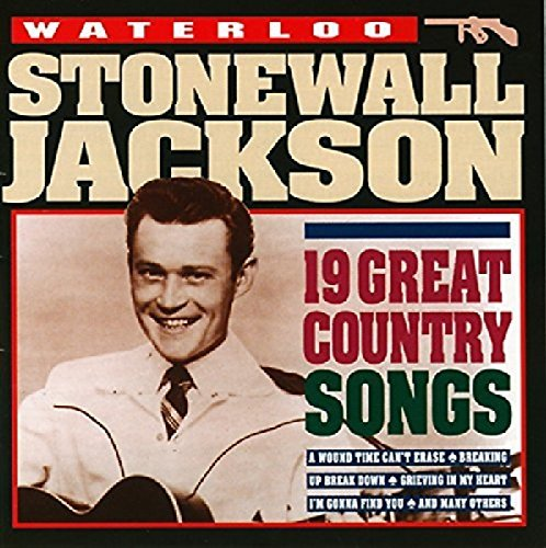 Stonewall Jackson Waterloo 19 Gr. Country Songs Import Eu