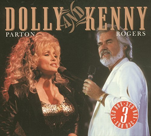 Dolly & Kenny Rogers Parton Dolly & Kenny Import Eu 3 CD Set