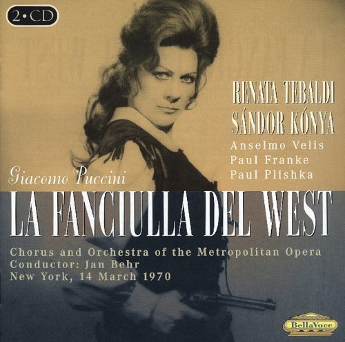 Giacomo Puccini La Fanciulla Del West Import Eu 2 CD