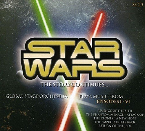 Global Stage Orchestra Star Wars Import Eu 3 CD Set