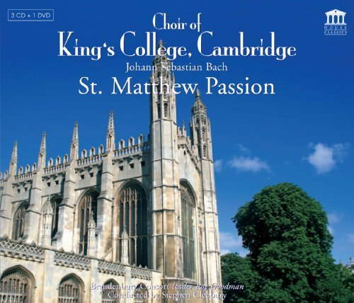 Johann Sebastian Bach St.Matthew Passion Bwv 244 (17 Covey Crump George Kirkby & Cleobury Choir Of King's Colle