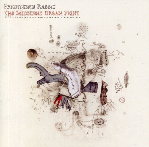 Frightened Rabbit Midnight Organ Fight Import Aus