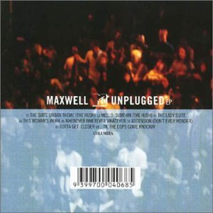 Maxwell Mtv Unplugged Import Aus Incl. Bonus Track