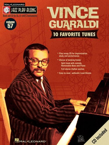Vince Guaraldi Vince Guaraldi Jazz Play Along Volume 57 [with Cd]