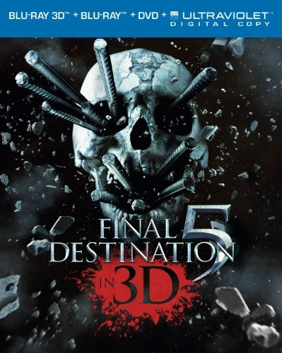 Final Destination 5 3d D'agosto Bell Fisher Blu Ray 3d + Blu Ray + DVD