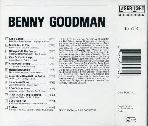 Benny Goodman Gene Krupa The Jazz Collector Edition Benny Goodman