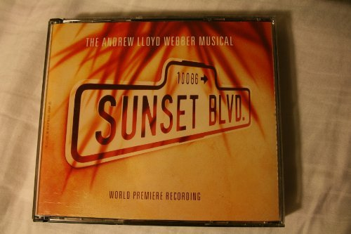 Patti Lupone Kevin Anderson Andrew Lloyd Webber Sunset Blvd The Andrew Lloyd Webber Musical