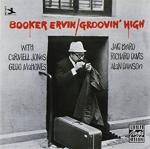 Booker Ervin Groovin' High CD R Feat. Jones Mahones Byard