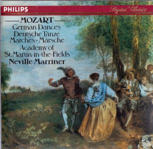 Mozart Marriner Amf German Dances Marches