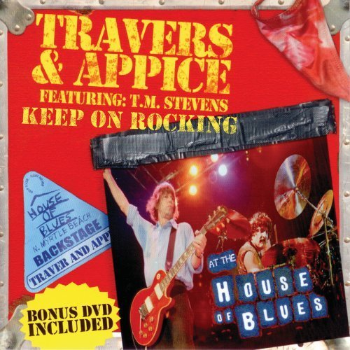 Pat & Carmine Appice Travers Keep On Rockin' Incl. Bonus DVD