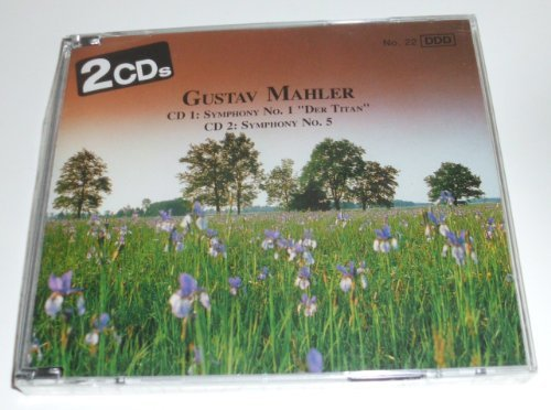 "G. Mahler Sym 1 D Major ""der Titan"" Sym 5 C Sharp Min"