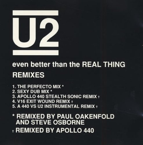 U2 Even Better Than The Real Thin