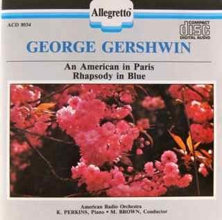 Gershwin G. Rhaps Blue Amer Paris