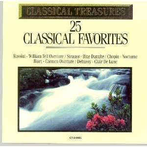 Classical Treasures 25 Classic Favorites Classical Treasures 25 Classic Favorites