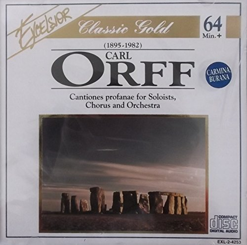 Orff C. Cantiones Profanae For Soloists Chorus