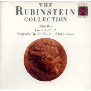 J. Brahms Rubinstein Collection Brahms Concerto No. 2;