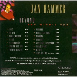 Jan Hammer Beyond The Mind's Eye