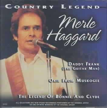 Haggard Merle Vol. 2 Country Legend