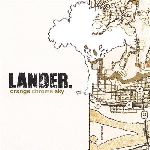 Lander Orange Chrome Sky