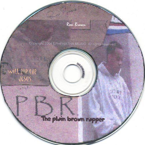 Ron Brown Plain Brown Rapper