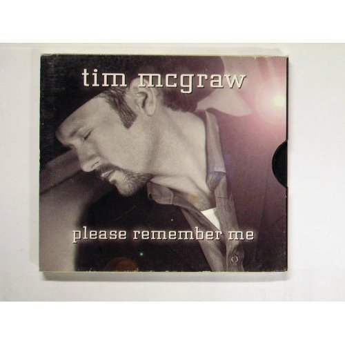 Tim Mcgraw Please Remember Me B W For A Little While