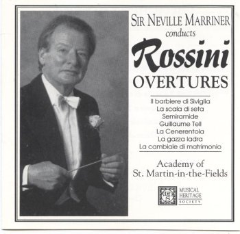 Neville Marriner Conducts Rossini Overtures