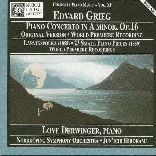 E. Grieg Pno Con In A Minor Op. 16 World P