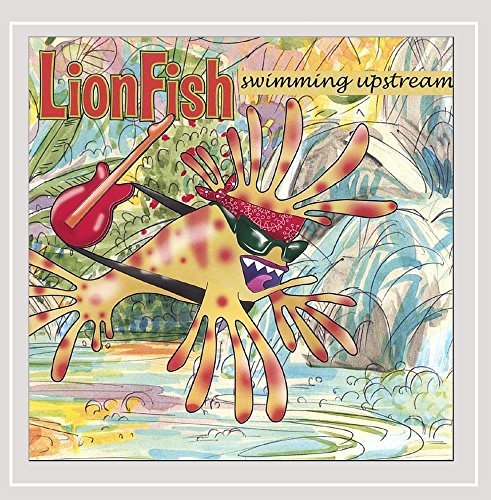 Lionfish Swimming Upstream