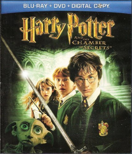 Harry Potter & The Chamber Of Secrets Radcliffe Grint Watson Branagh Blu Ray+dvd+digital Copy