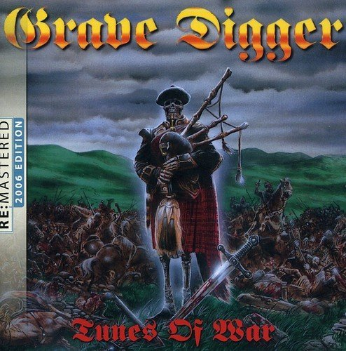 Grave Digger Tunes Of War Import Eu Remastered