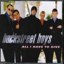 Backstreet Boys All I Have To Give Pt.1