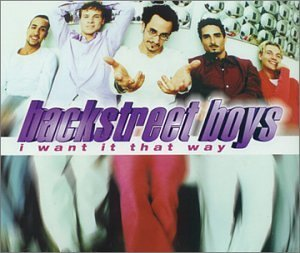 Backstreet Boys I Want It That Way Import Gbr