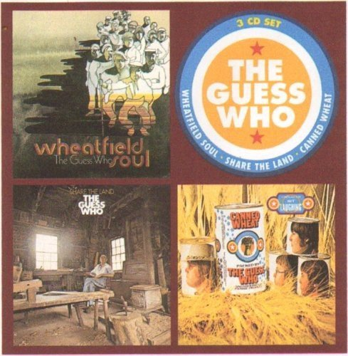Guess Who Wheatfield Soul Share The Land Import Gbr 3 CD Set