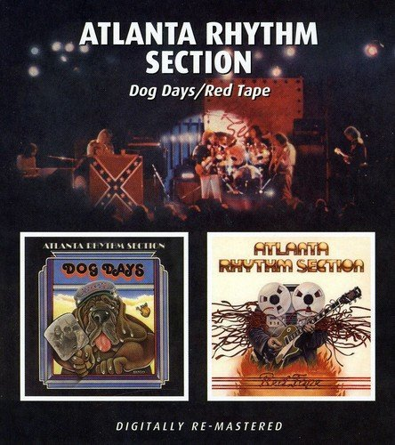Atlanta Rhythm Section Dog Days Red Tape Import Gbr 2 On 1