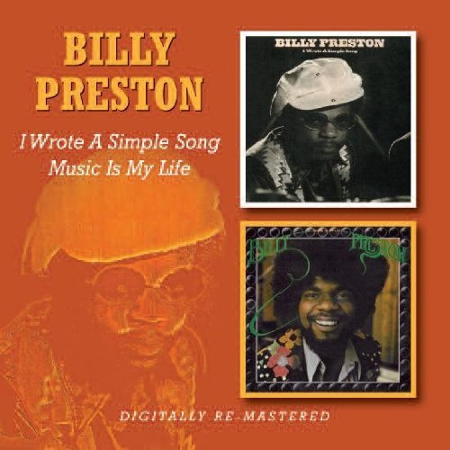 Billy Preston I Wrote A Simple Song Music Is Import Gbr 2 CD Remastered