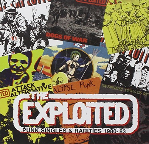 Exploited Punk Singles & Rarities 1980 8 Import